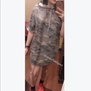 Army Loose dress